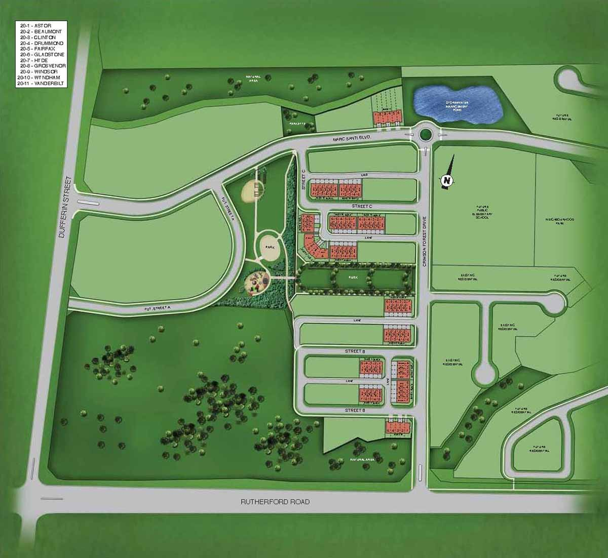 Site plan fernbrook homes Home site plan