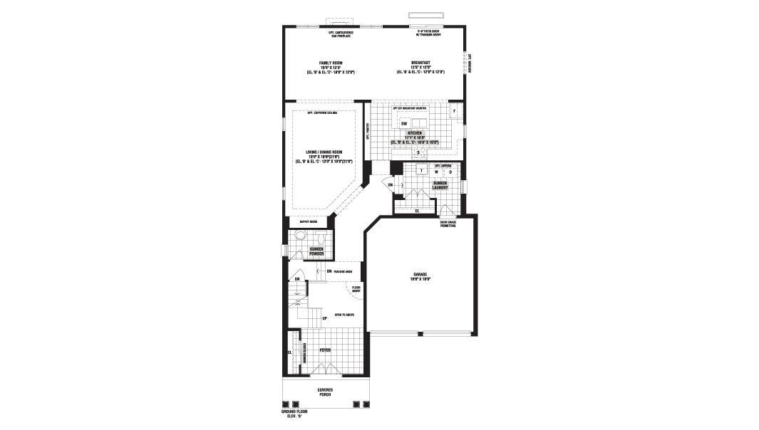 Fernbrook homes bronte creek floor plans Home design and style – Scott Homes Agritopia Floor Plans