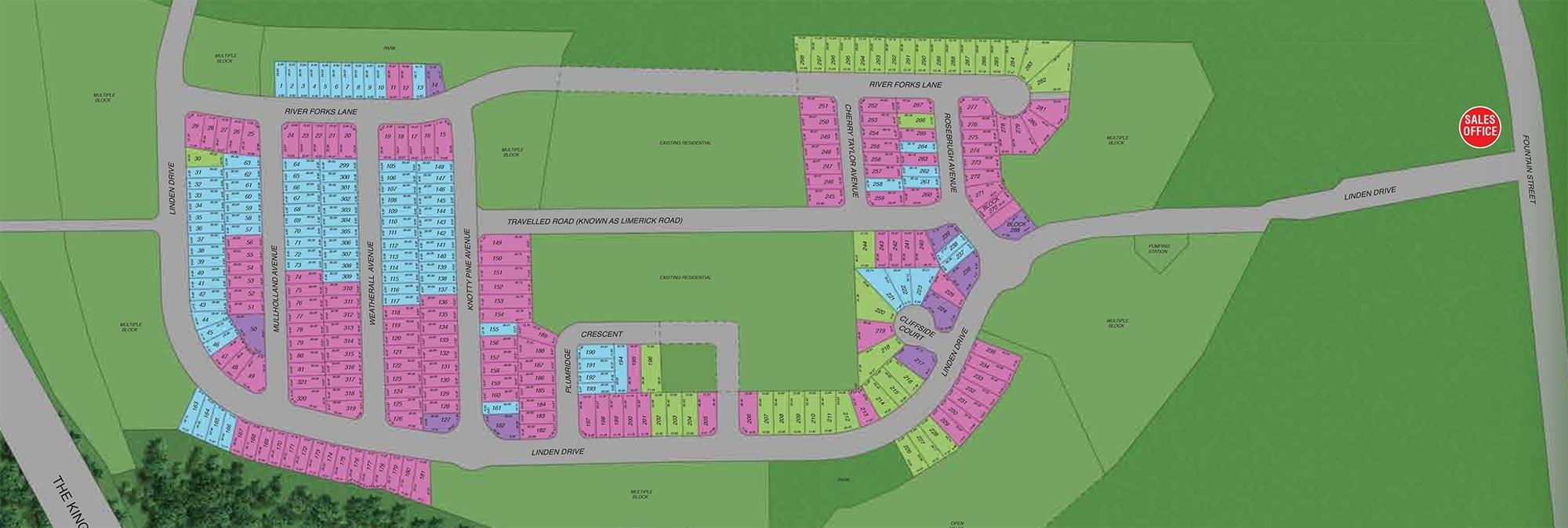 Grand River Woods Site Plan