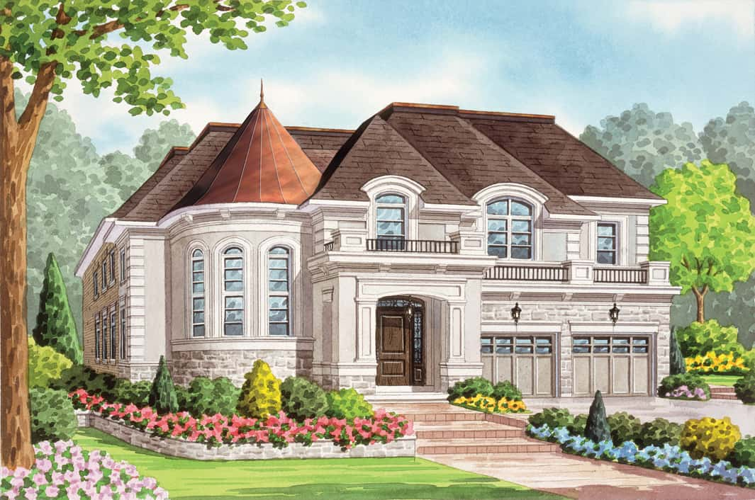 westbrook oakville ontario fernbrook homes customize your new home with our decor centre