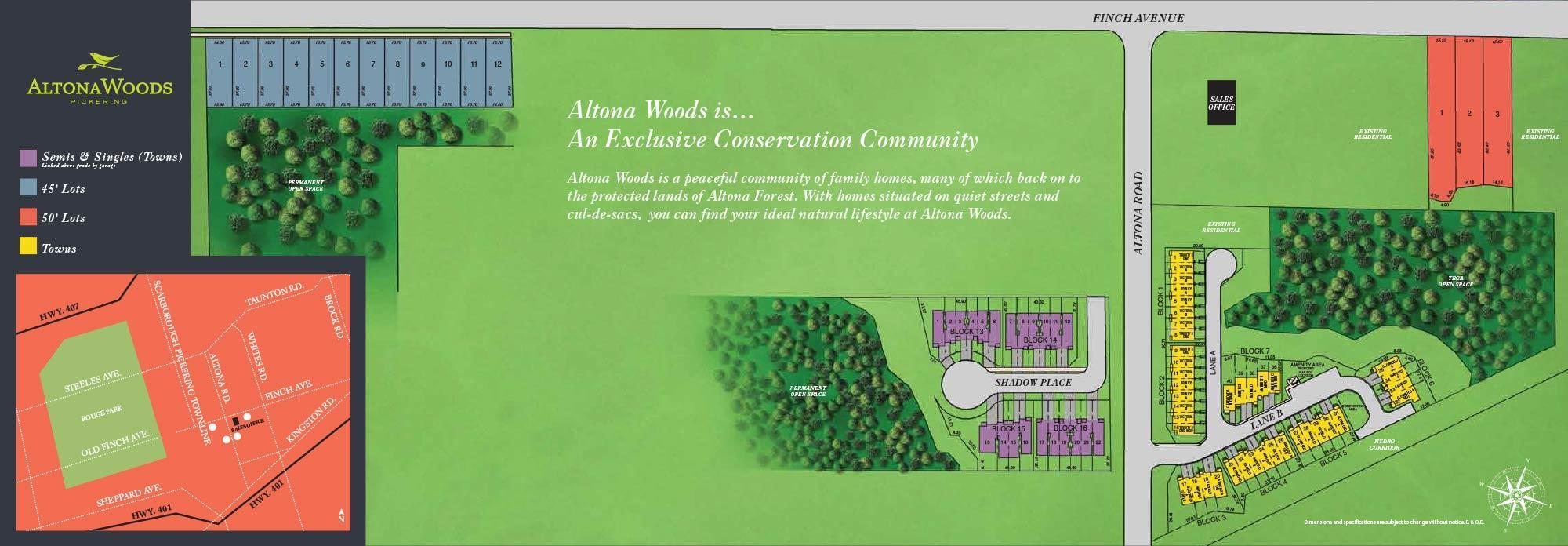 Altona Woods Site Plan
