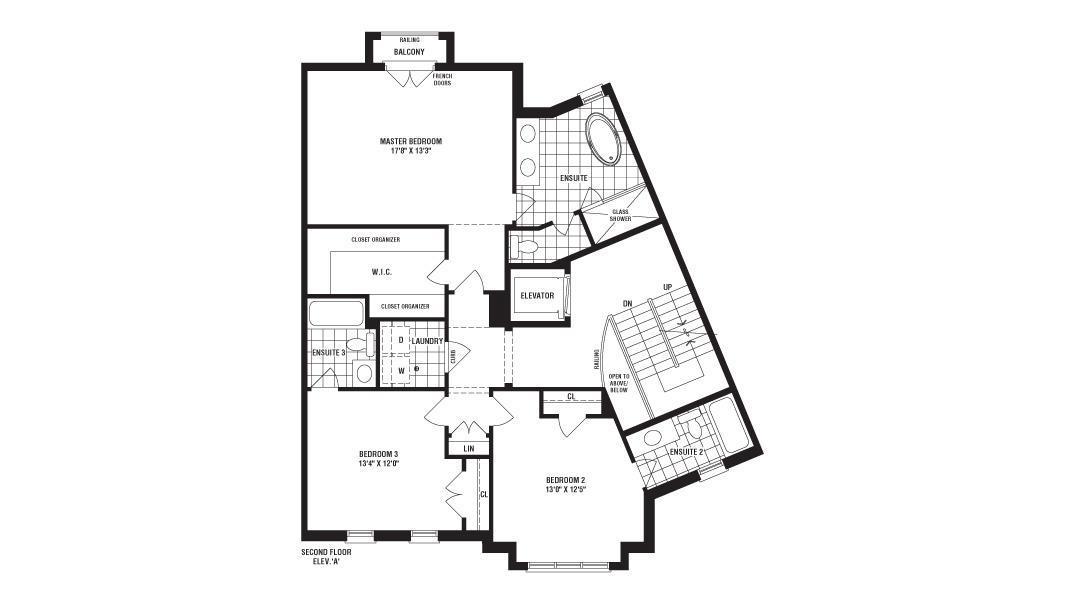 Monticello oakville ontario fernbrook homes for Monticello floor plan