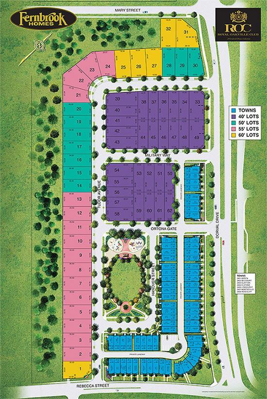 Royal Oakville Club Site Plan