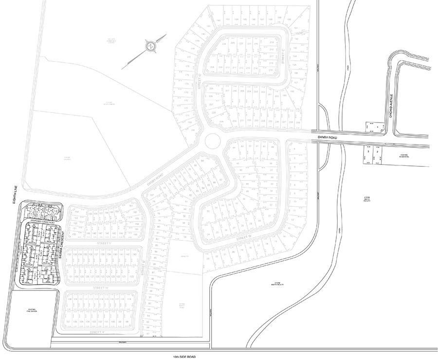 The Chateaus Site Plan