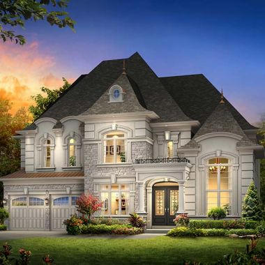 Fontainbleu upscale homes richmond hill for Richmond hill home builders