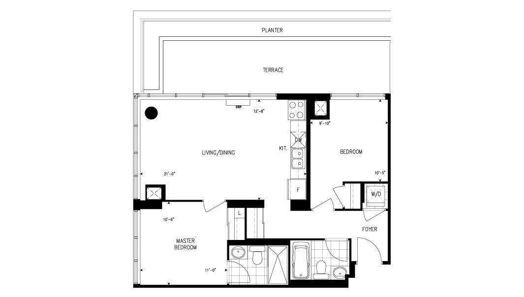 Two Bedroom Fernbrook Homes